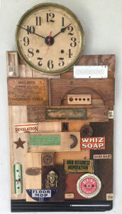 Clock N-70 by Ann Durley