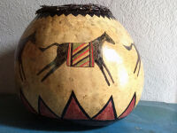 Horse Gourd by Anna Mallard