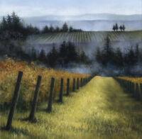 Misty Vinyard by Anne Jankowski