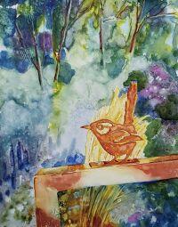 """""""Rusty Bird"""" by Carolyn Conoy"""