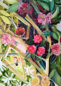 Camelia Time Again by Christine Hannegan