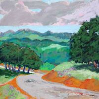 Twist Road in the Rain by Dale Bunse