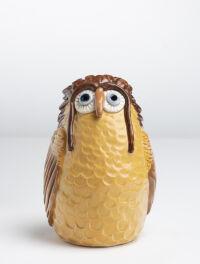 Brown Chicken Bank by Michelle Mills