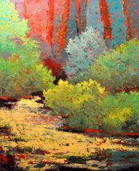 Metolius River by Pam Serra-Wenz