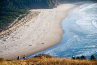 Afternoon Stroll on Cascade Head by Rich Bergeman