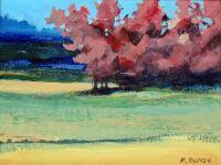 plum blossom by Richard Bunse