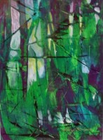 Study in Green & Purple by Sheryl Thompson