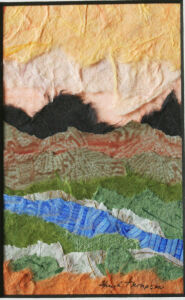 Paper Collage 1 by Sheryl Thompson